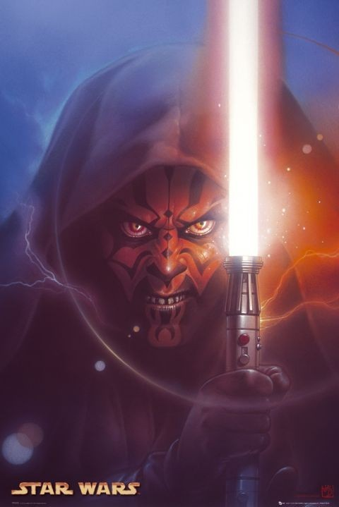 Star Wars Darth Maul Poster Sold At Europosters