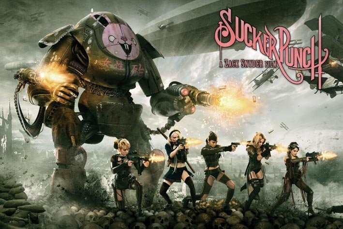 SUCKER PUNCH - battle Poster, Art Print