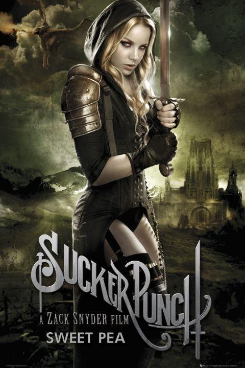 SUCKER PUNCH - sweet pea Poster, Art Print