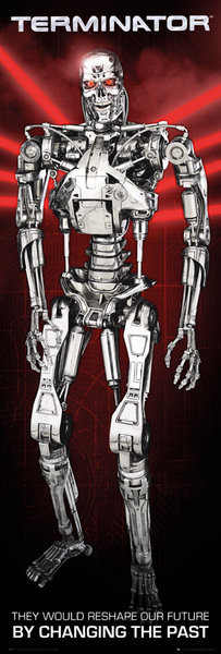 Terminator - Future Poster, Art Print