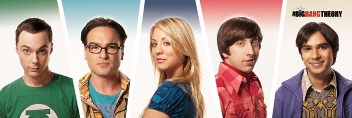 The Big Bang Theory - Cast Poster, Art Print