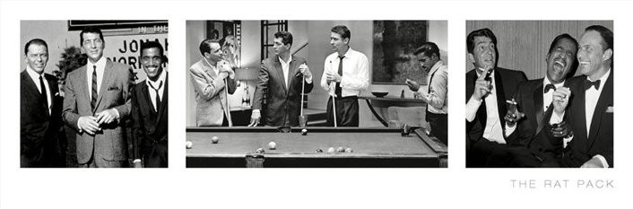 THE RAT PACK - 3 images posters | photos | pictures | images