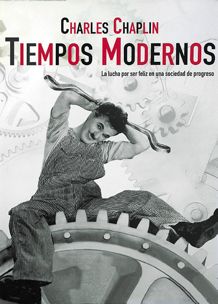 Tiempos Modernos Charlie Chaplin Poster Europosters