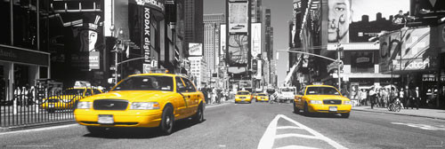 TIMES SQUARE - yellow cab posters | photos | pictures | images