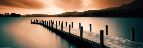 WOODEN LANDING JETTY posters | art prints