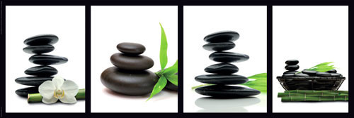 ZEN STONES - green posters | photos | pictures | images