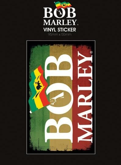 Bob Marley Logo Sticker Sold At Europosters