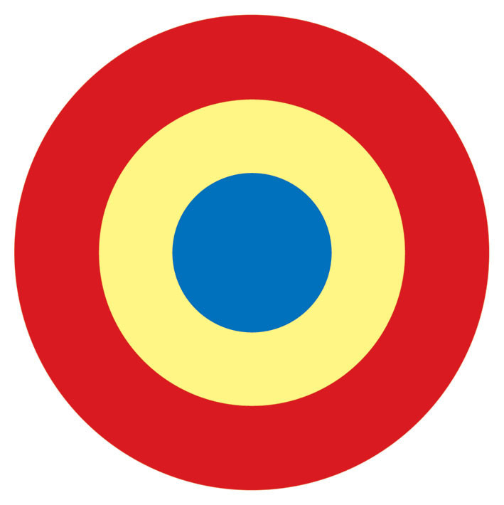 Mod Target Red Sticker Sold At Europosters