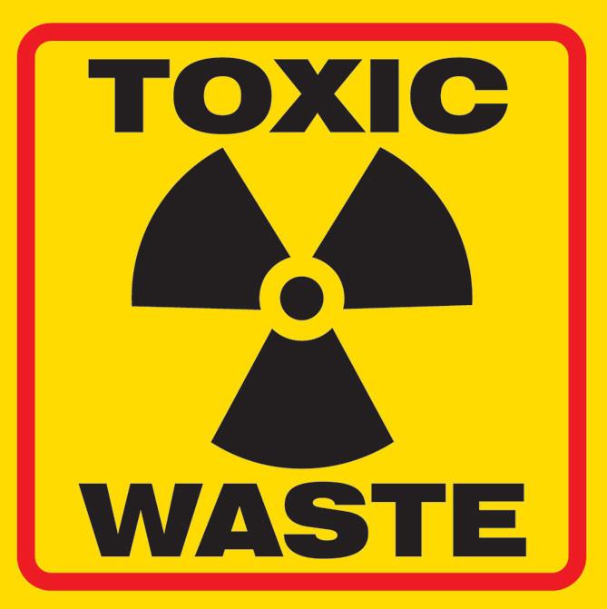 Toxic Waste Sticker