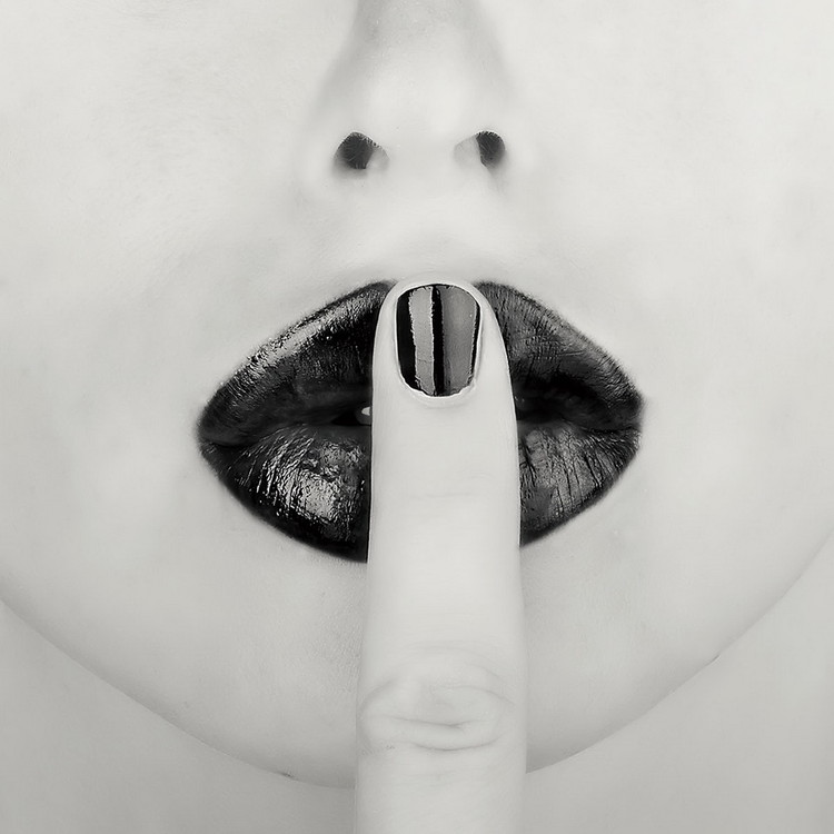 Obraz Lips - Shhh