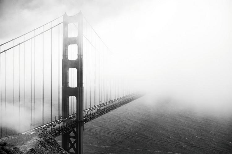 Obraz San Francisco - Golden Gate in Mist