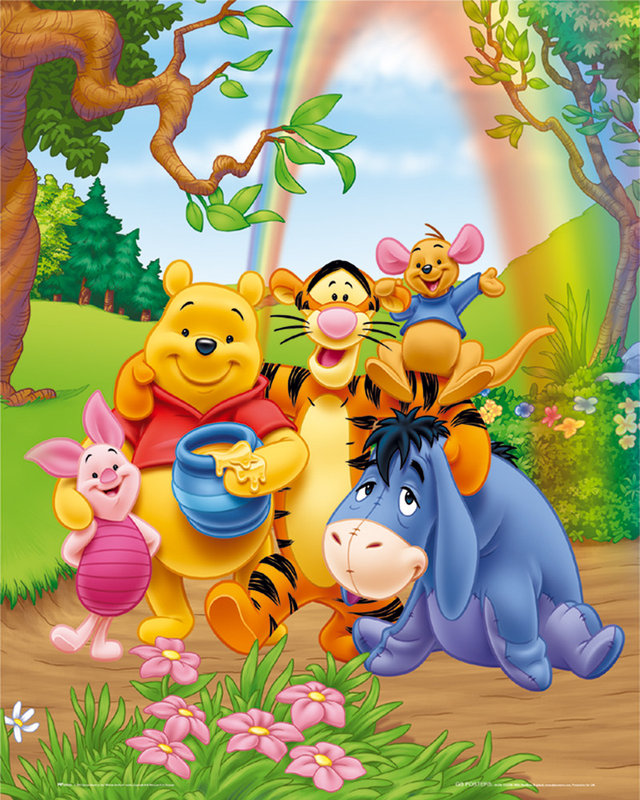 Winnie the pooh poster sold at europosters winnie the pooh poster voltagebd Gallery