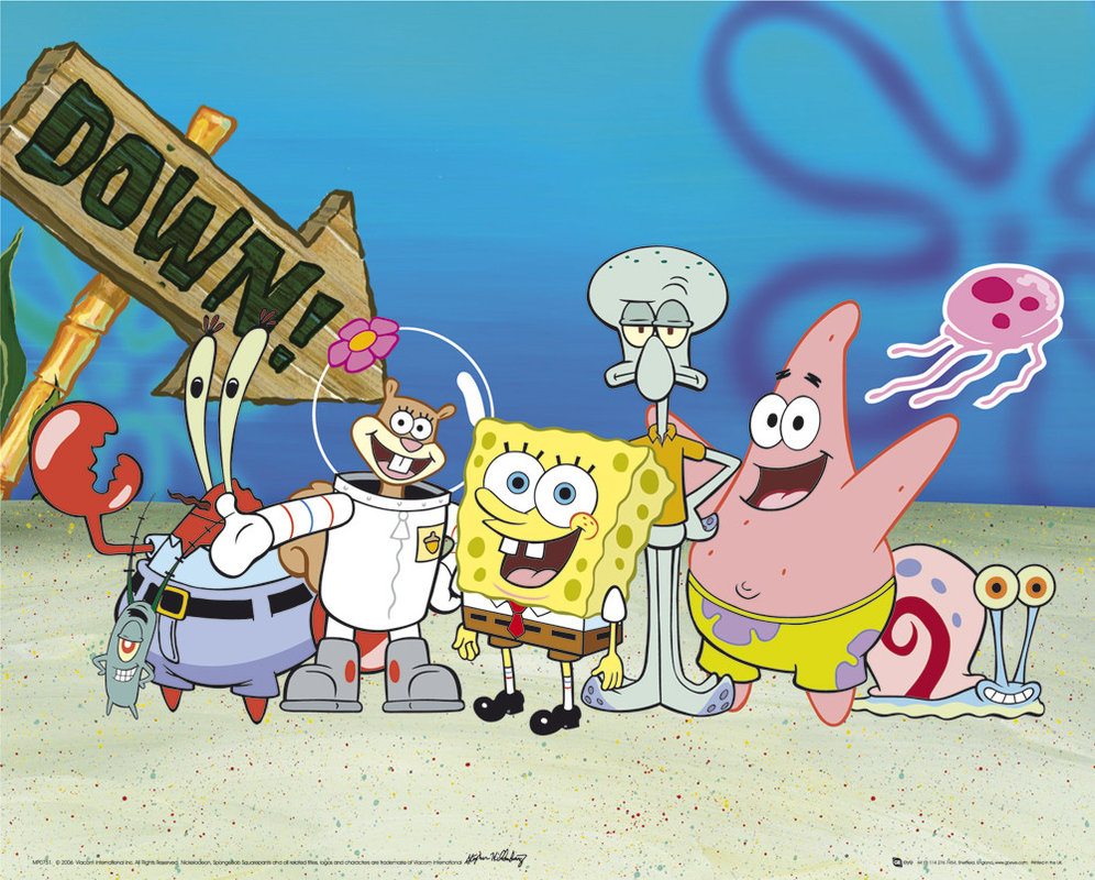 Spongebob Cast Poster Sold At Europosters
