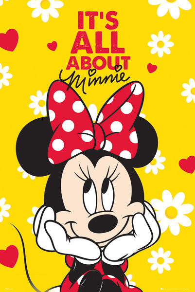 MINNIE MOUSE - itu0026#39;s all about Poster : Sold at Europosters