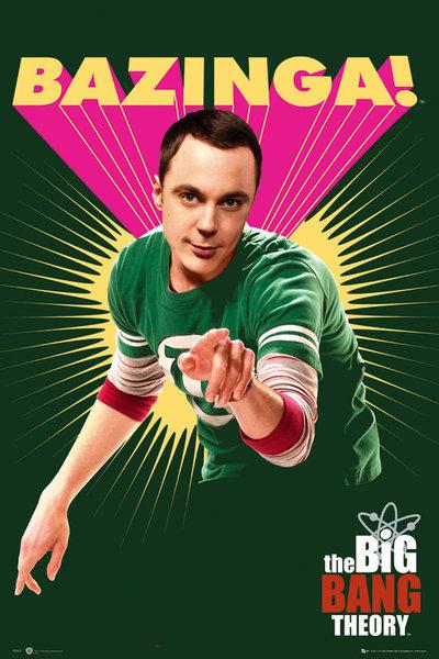 Big Bang Theory Bazinga Poster Sold At Europosters