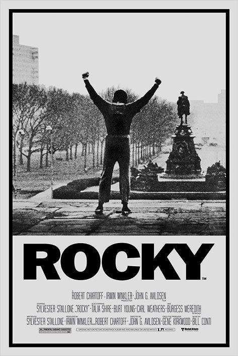 rocky 1 poster affiche acheter le sur. Black Bedroom Furniture Sets. Home Design Ideas