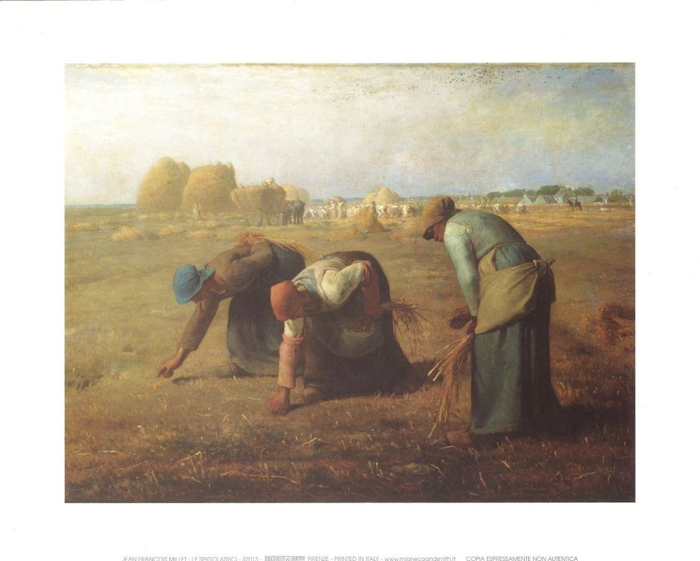 millet the gleaners essay help