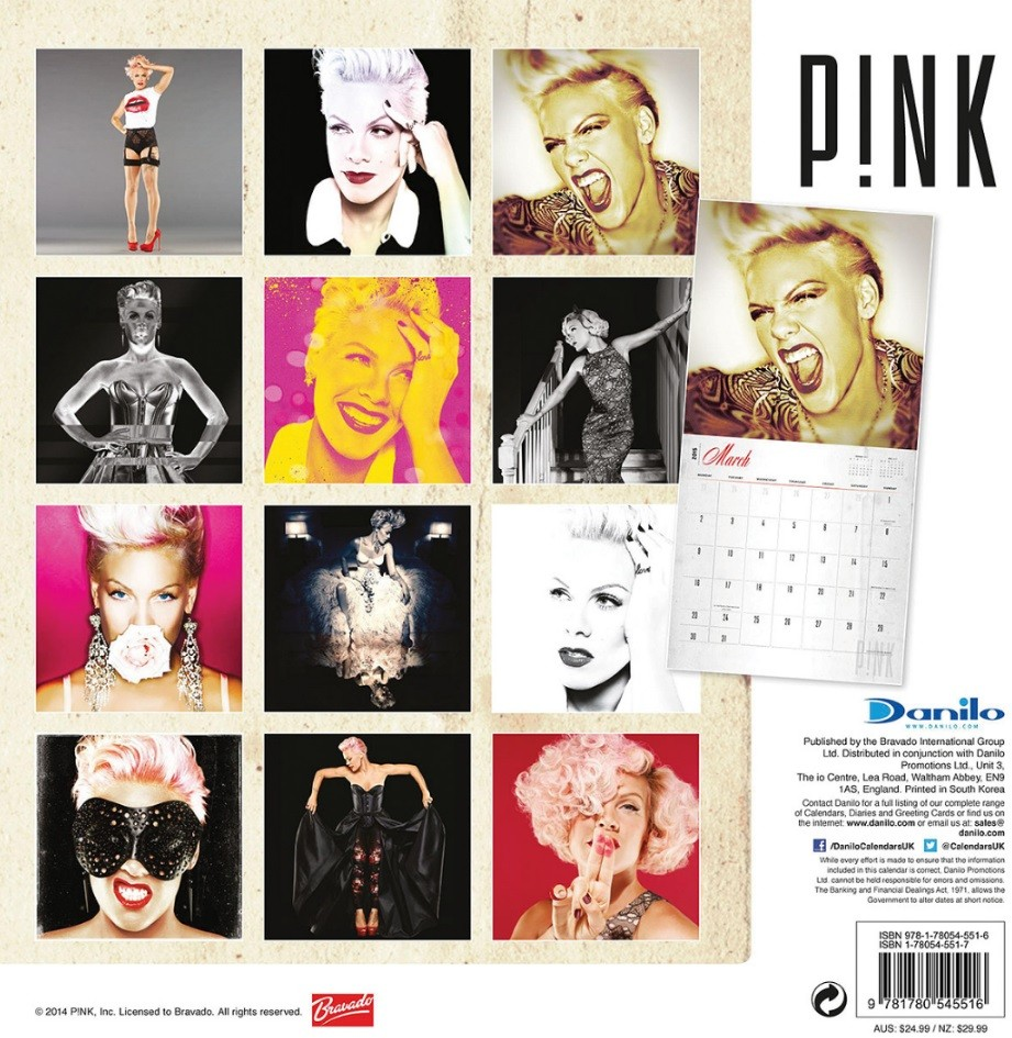 Pink P Nk Calendars 2018 On Europosters