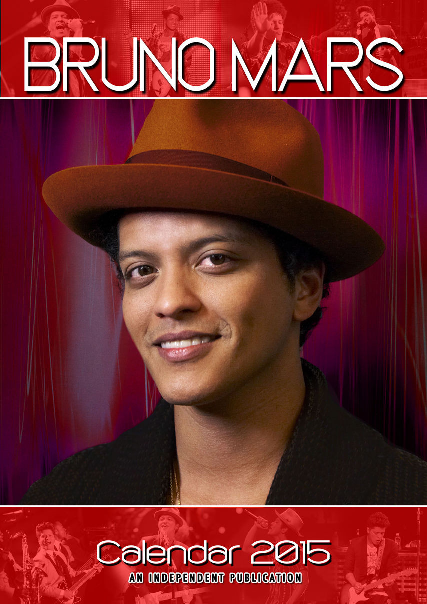 Bruno Mars - Calendars 2017 on EuroPosters