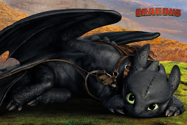 How To Train Your Dragon 2 Hiccup And Toothless Poster Dragons 2 - Krokmou Po...