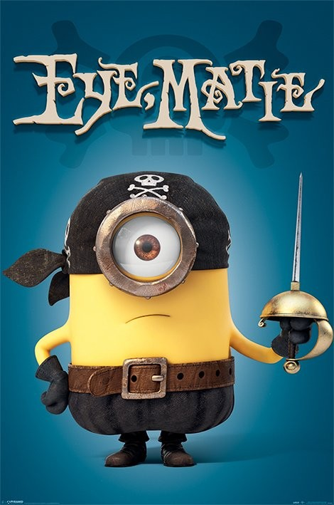 minions eye matie poster sold at abposterscom