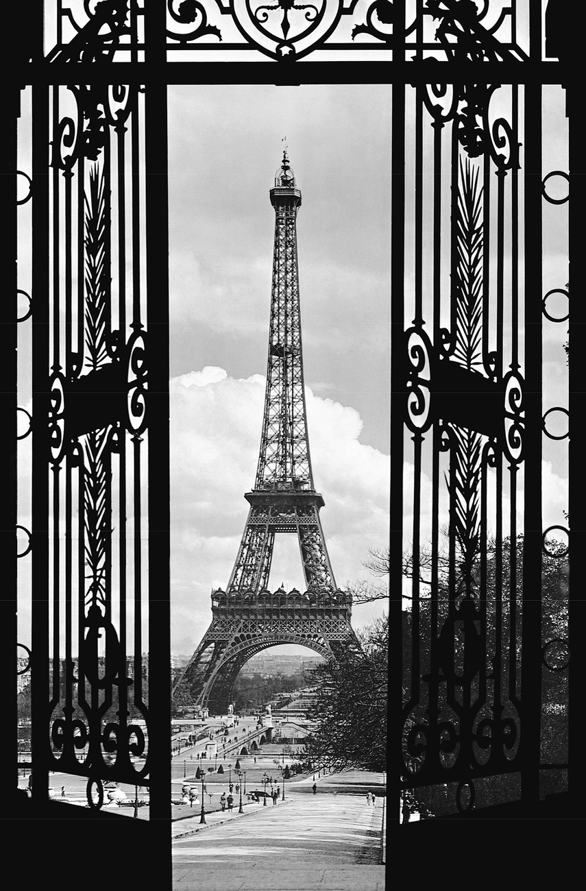 LA TOUR EIFFEL 1909 Wall Mural | Buy at EuroPosters