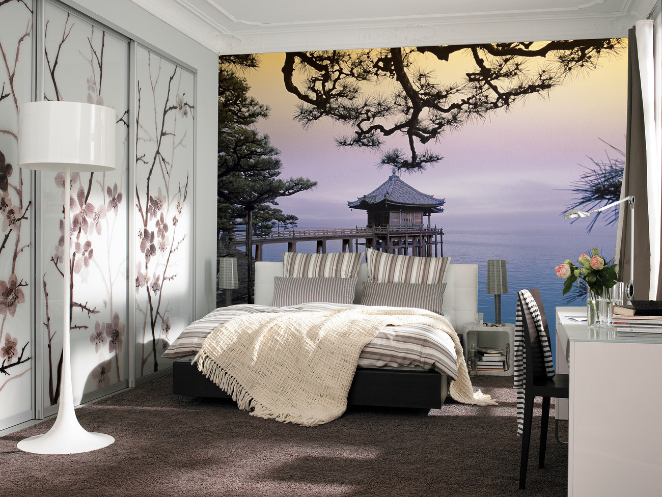 zen poster mural papier peint acheter le sur. Black Bedroom Furniture Sets. Home Design Ideas