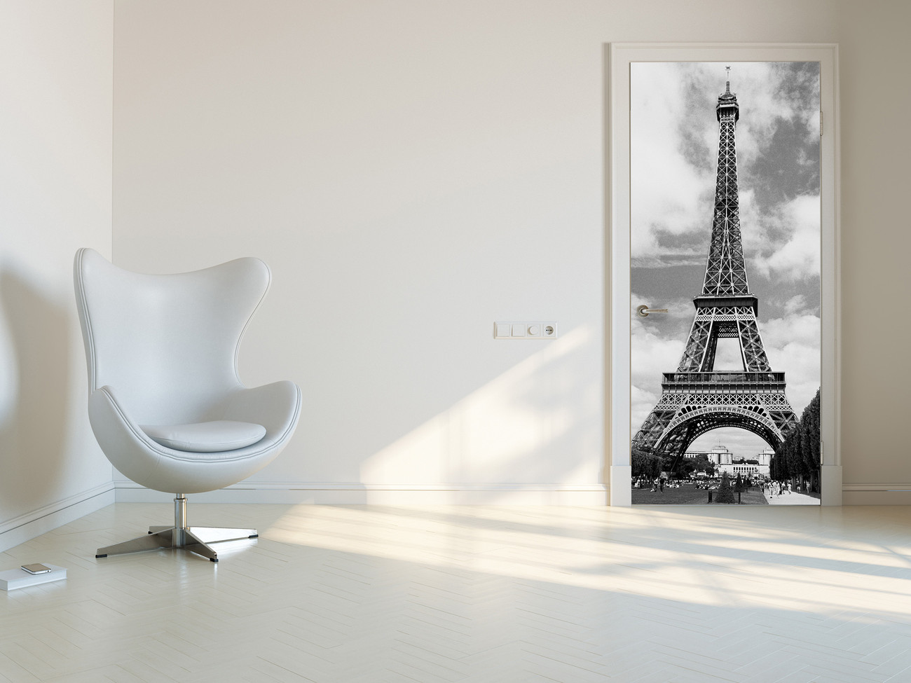 Eiffel tower wall mural buy at europosters for Eiffel tower wall mural ikea