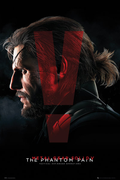 Metal Gear Solid V The Phantom Pain Cover Poster Sold