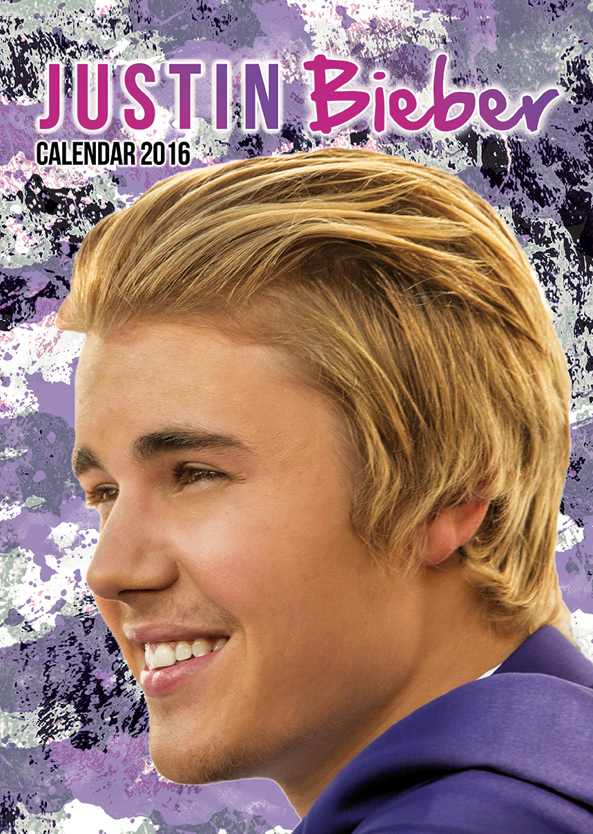 Justin Bieber Calendars 2018 On Europosters