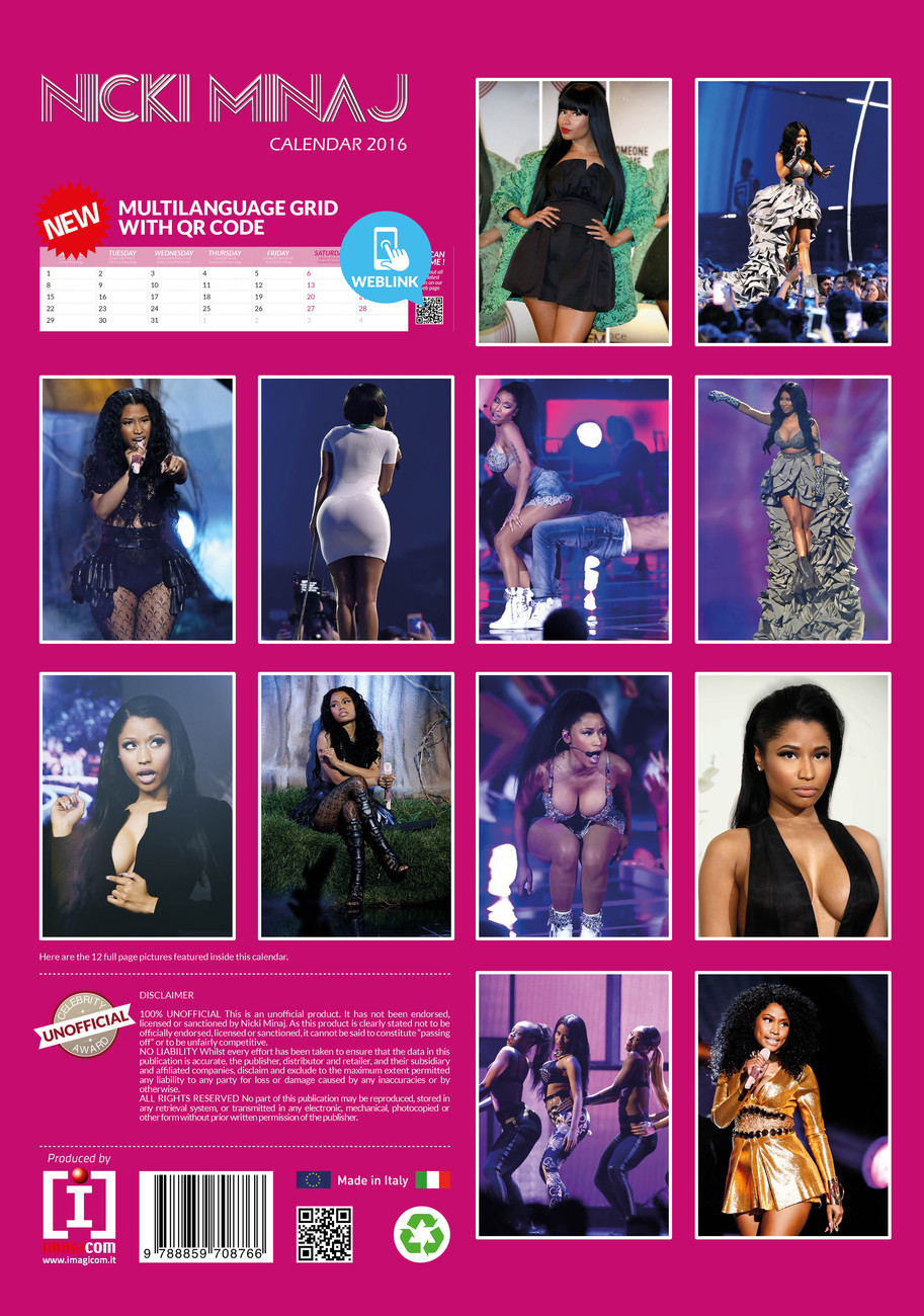 Nicki Minaj - Calendars 2017 on EuroPosters