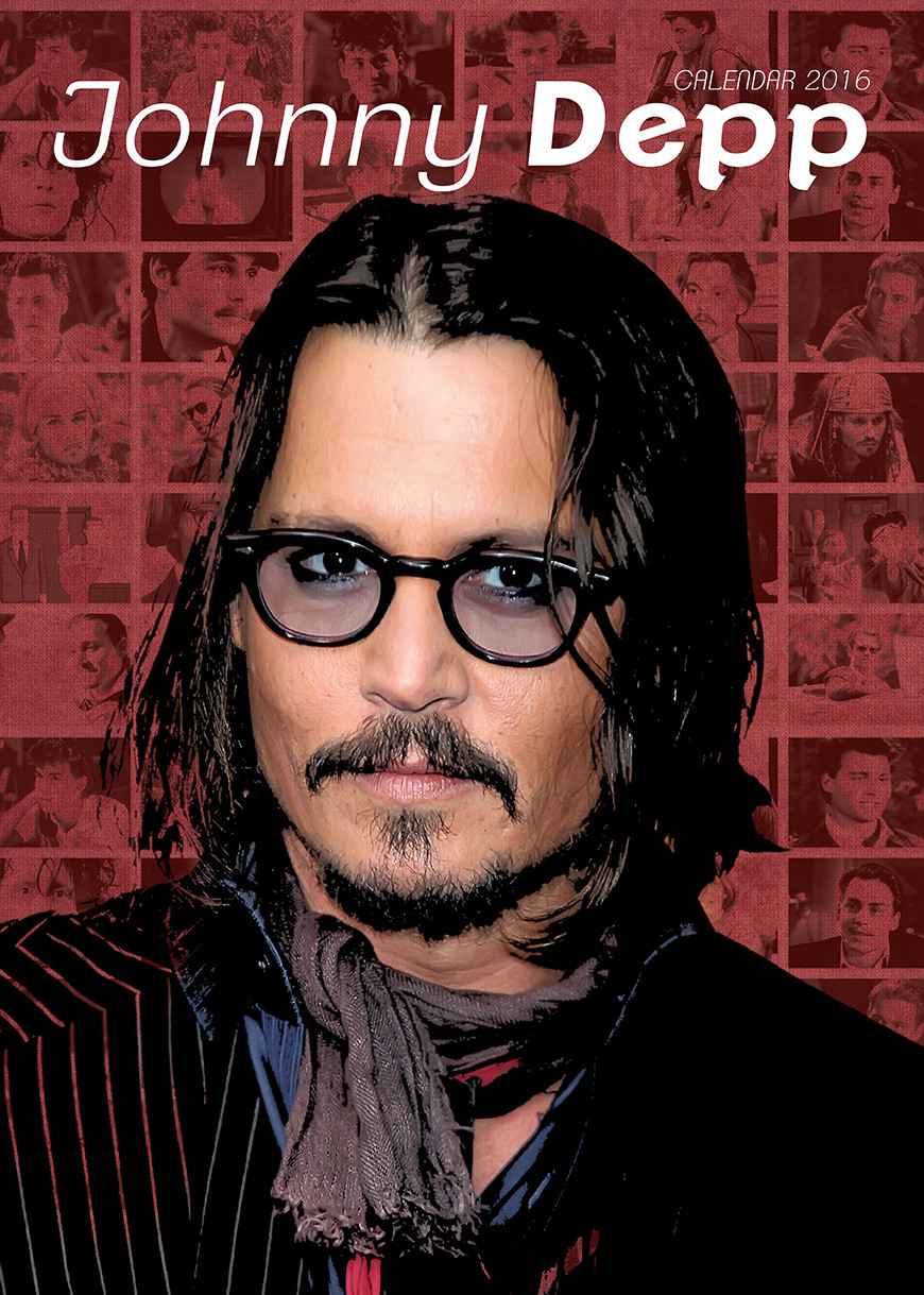 Johnny Depp - Calendars 2017 on EuroPosters