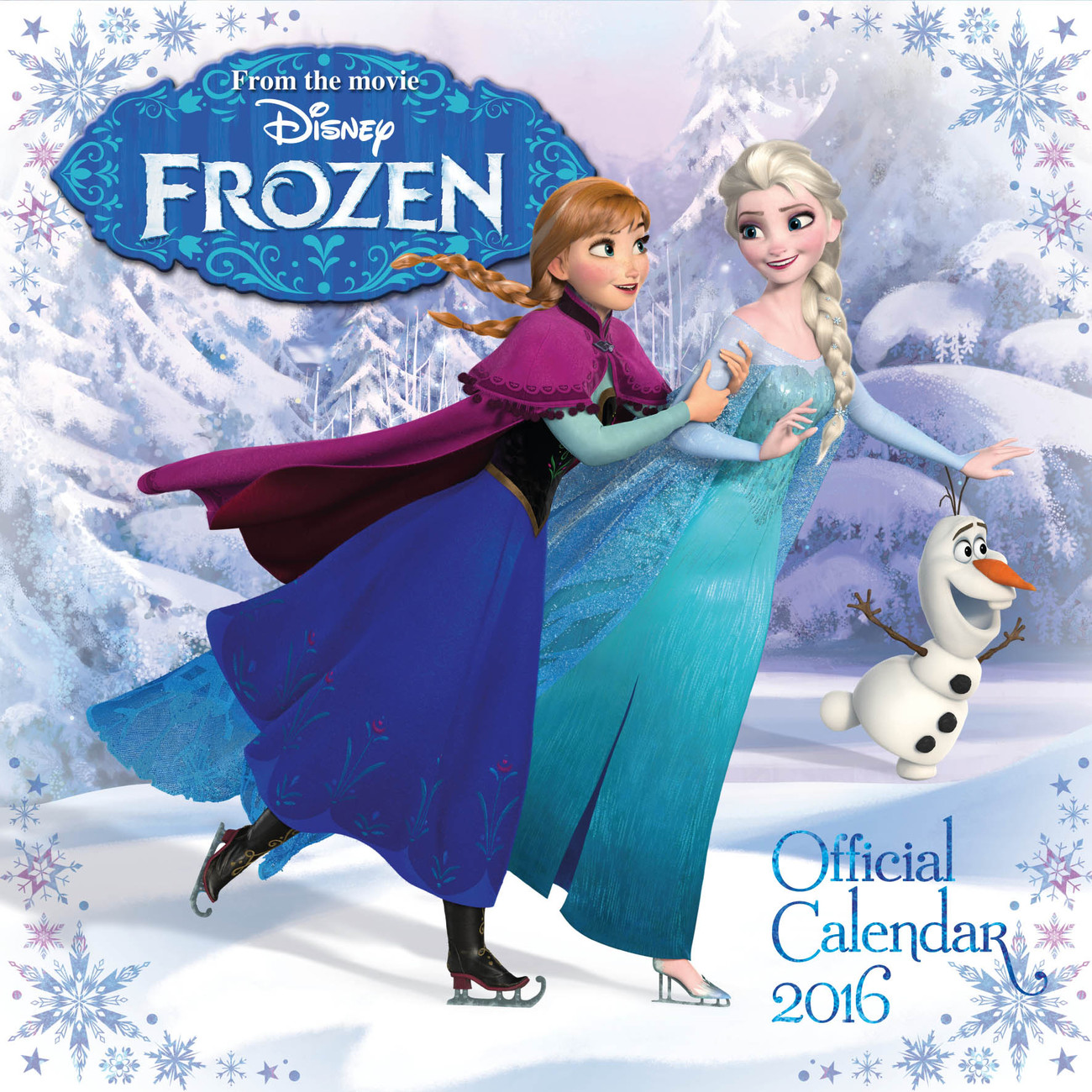 Frozen - Calendars 2018 on Abposters.com