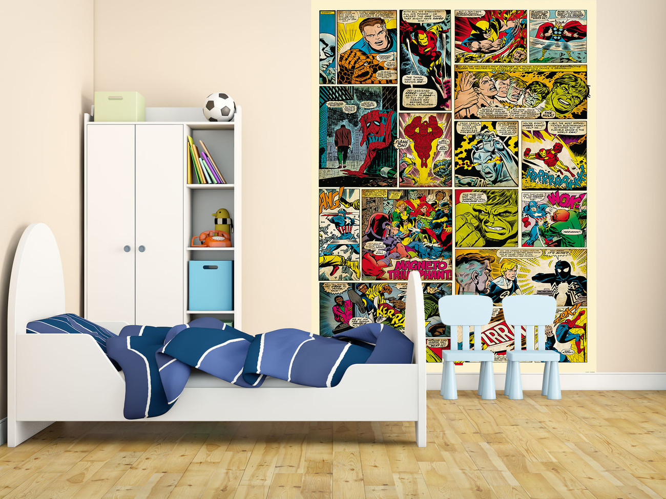 Avengers comic marvel wall mural buy at europosters for Avengers wall mural uk