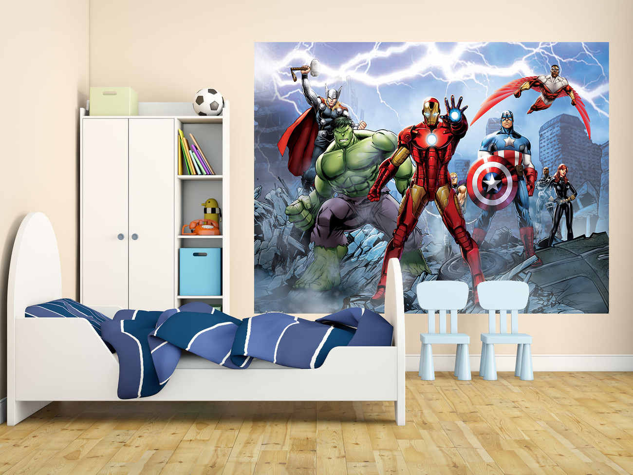 Avengers marvel wall mural buy at europosters for Avengers wall mural uk