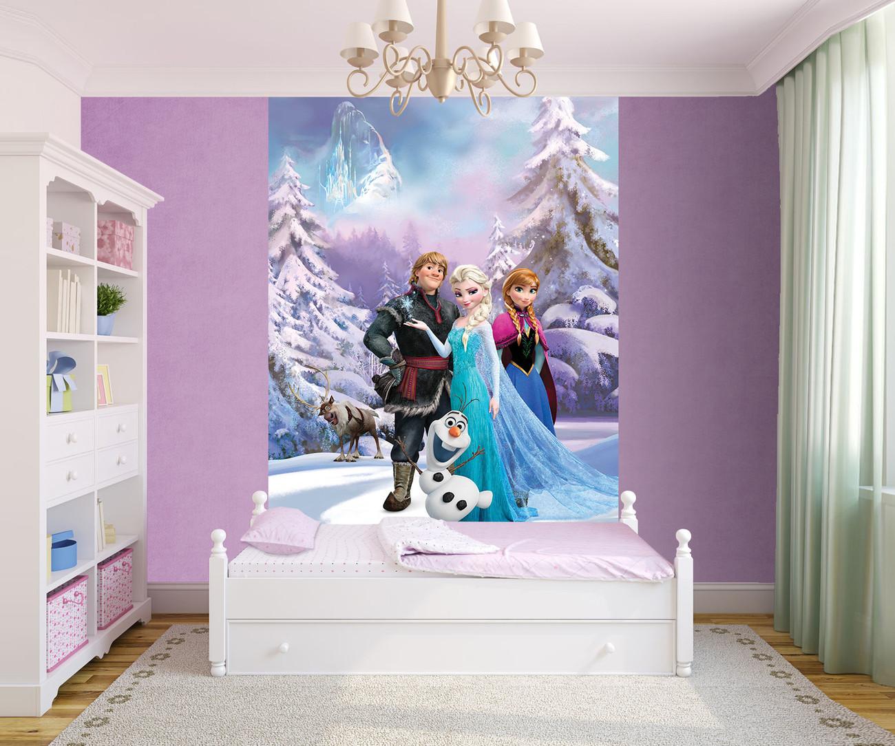 la reine des neiges group poster mural papier peint. Black Bedroom Furniture Sets. Home Design Ideas