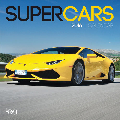 Supercars Calendars On EuroPosters - Sports cars calendar 2018