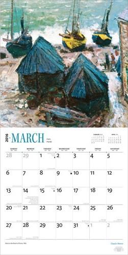 Claude Monet Calendars 2018 On Europosters