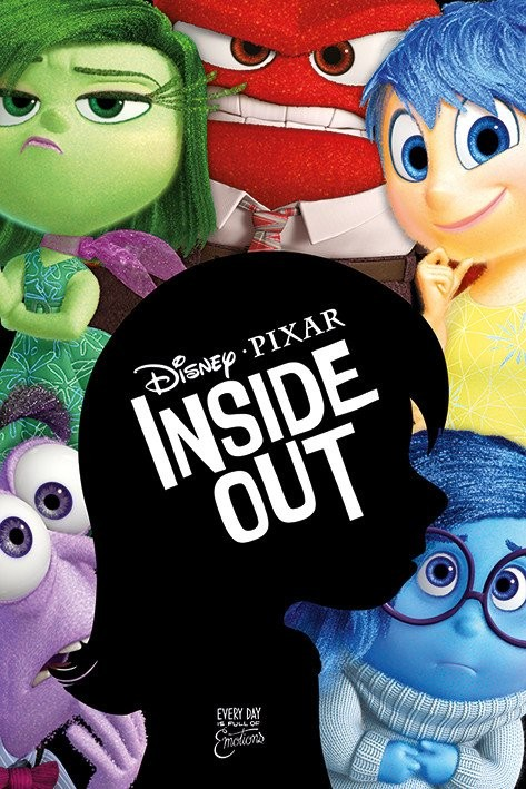 Inside Out Silhouette Poster Sold At Abposters Com