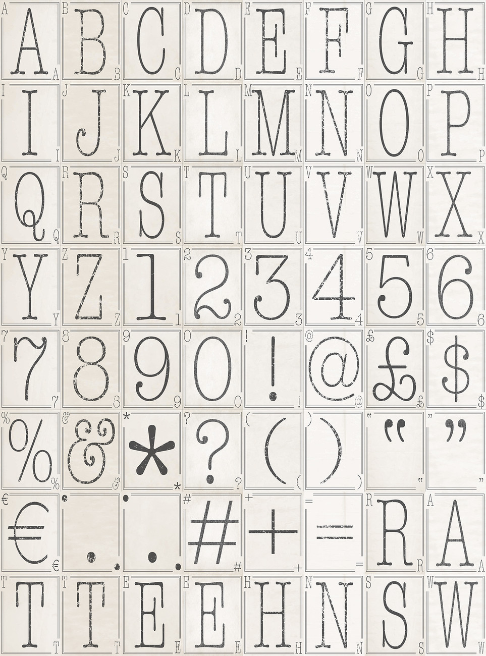 Letters wall mural buy at europosters for Mural lettering