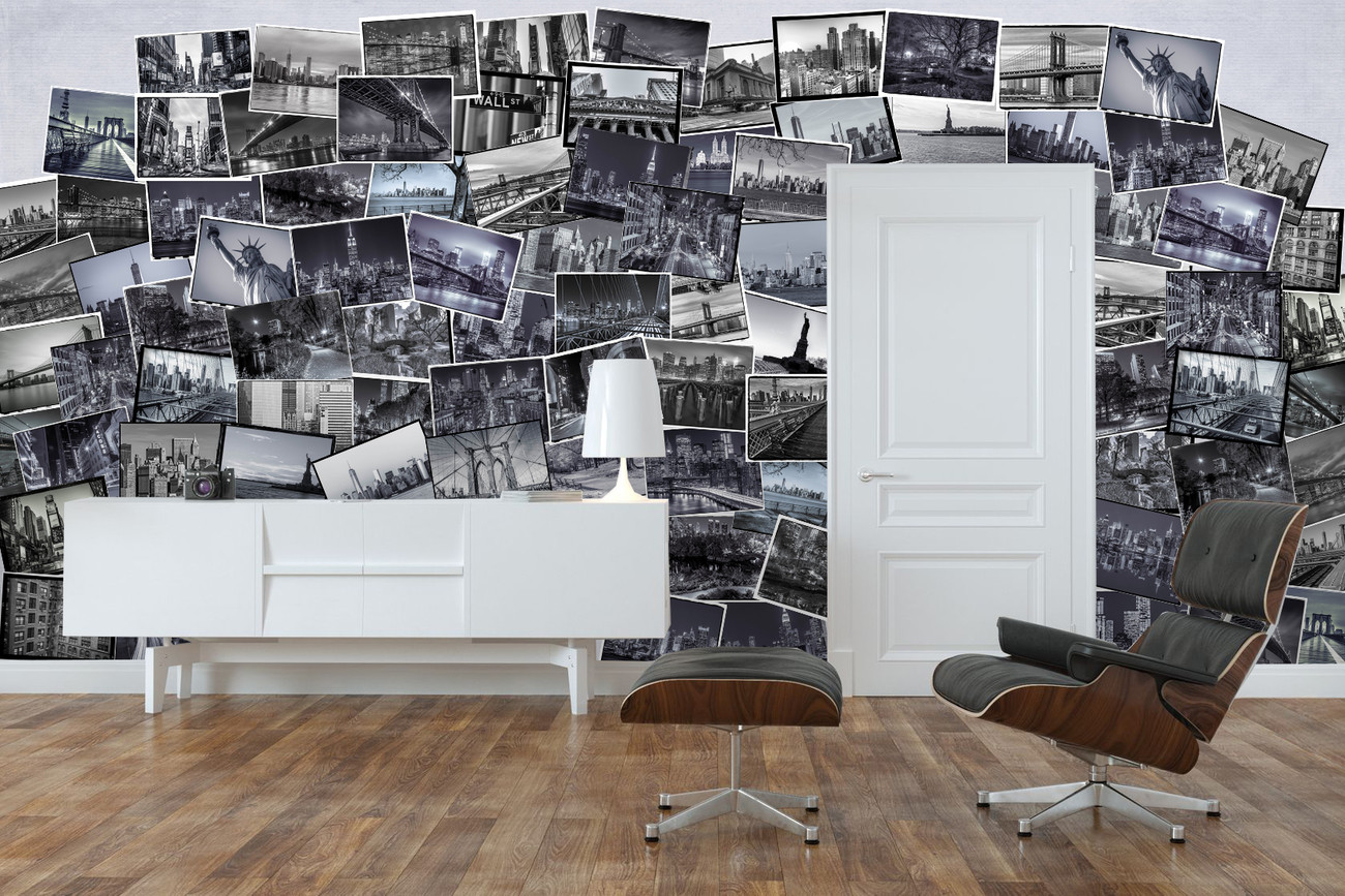 New york wall mural buy at europosters for Acheter poster mural new york