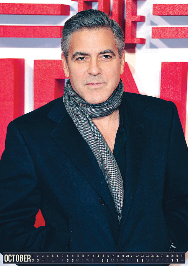 George Clooney - Calendars 2018 on EuroPosters