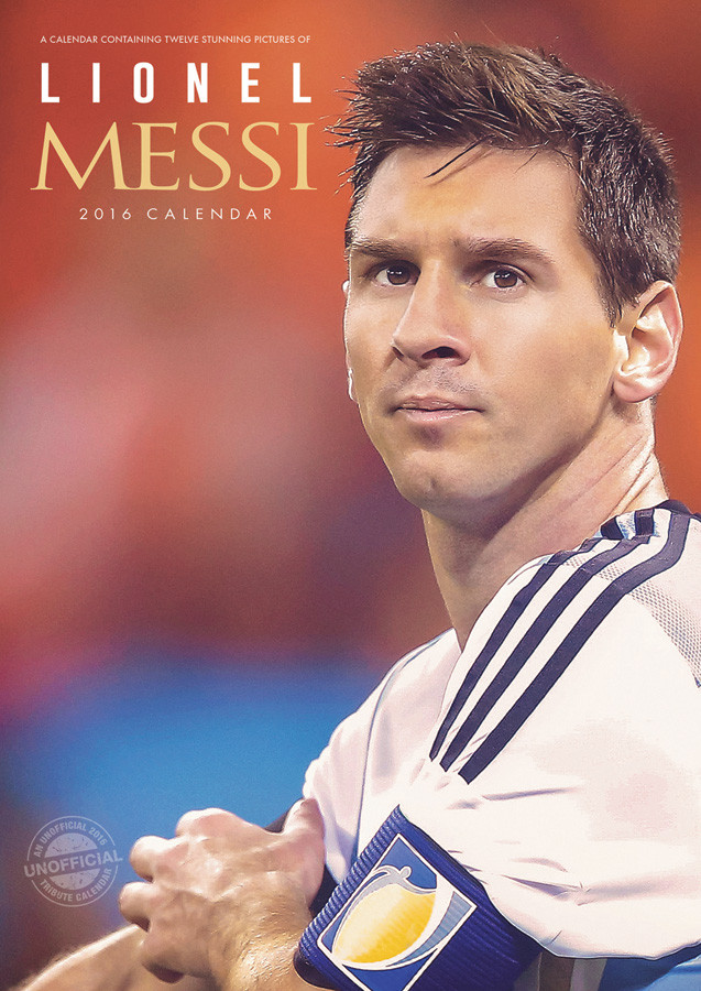 Lionel Messi - Calendars 2017 on EuroPosters