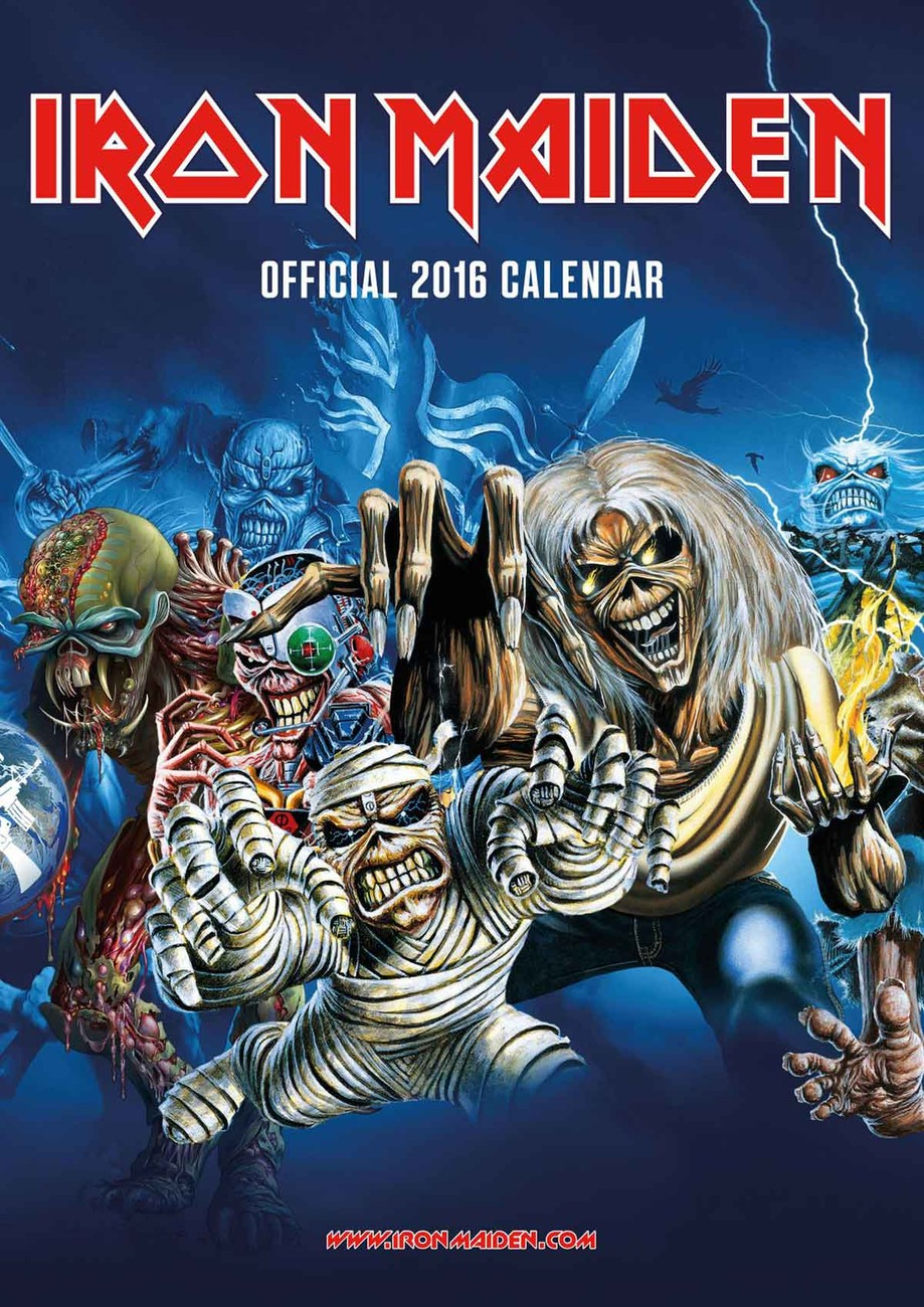 iron maiden calendars 2018 on europosters