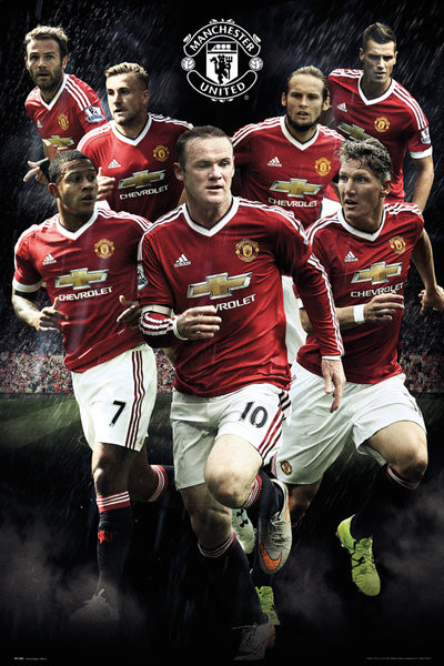 Manchester United Fc Players Enam Poster