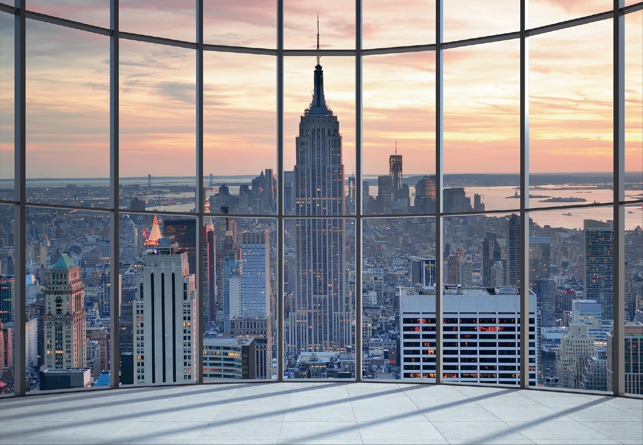 New york empire state building wall mural buy at for Acheter poster mural new york