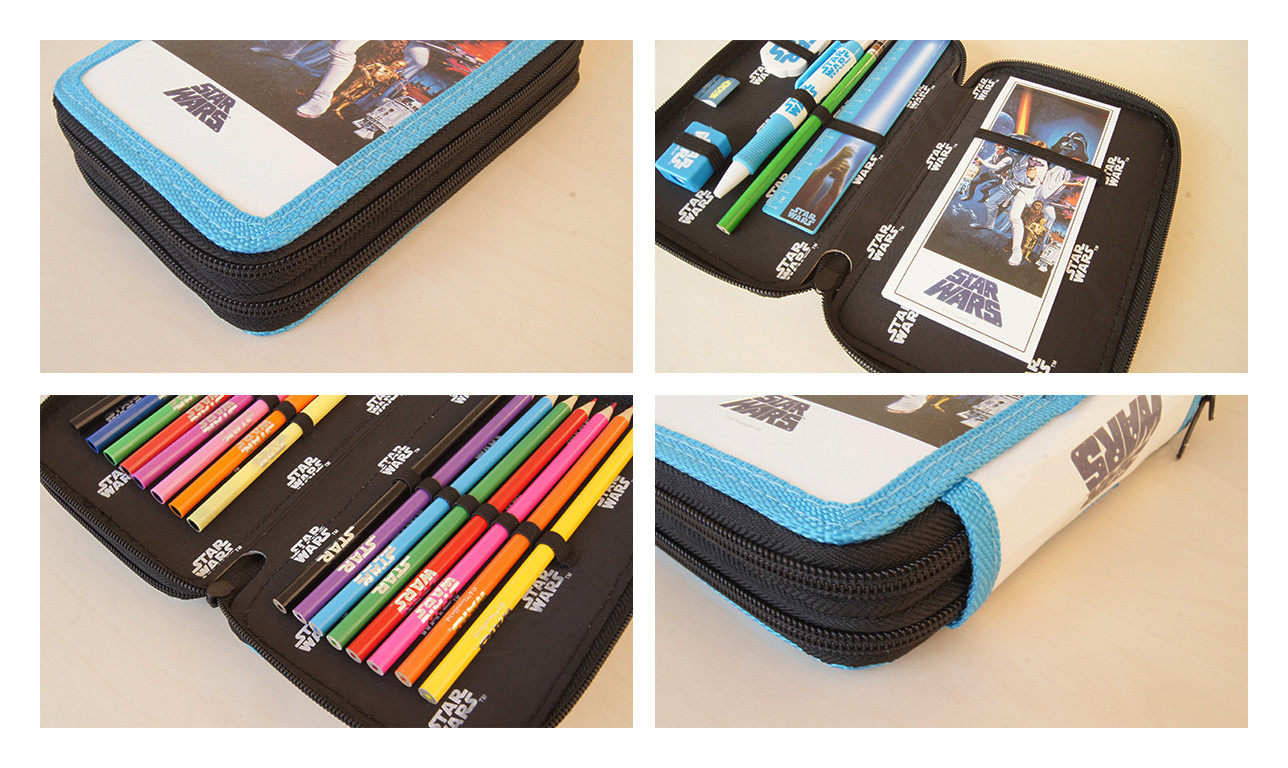 Star wars a new hope filled pencil case fournitures de for Acheter fournitures de bureau