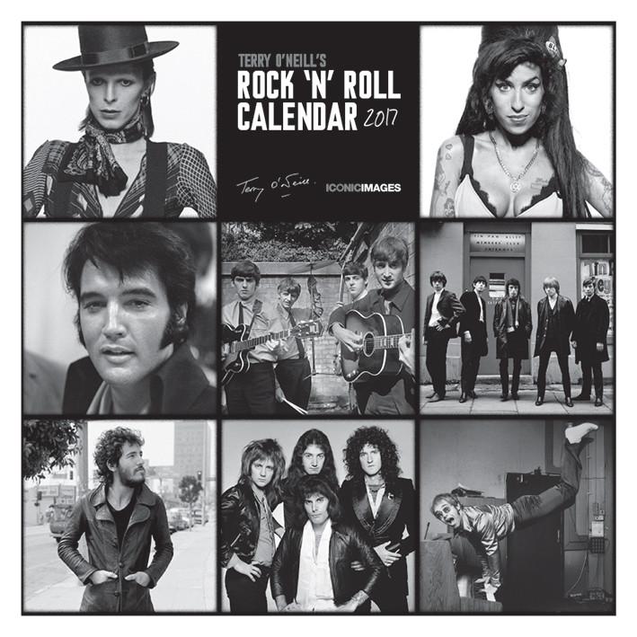 Terry O Neill S Rock N Roll Calendars 2018 On