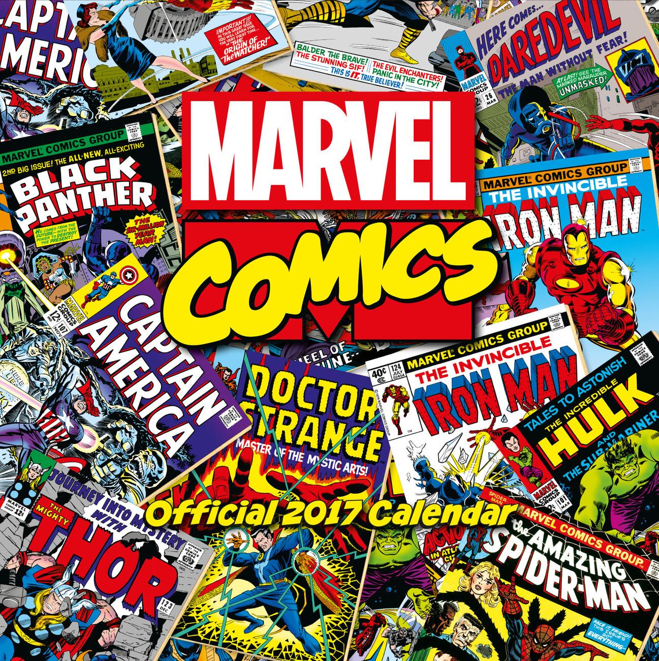 Wallpaper Calendar Superhero : Marvel comics calendars on europosters