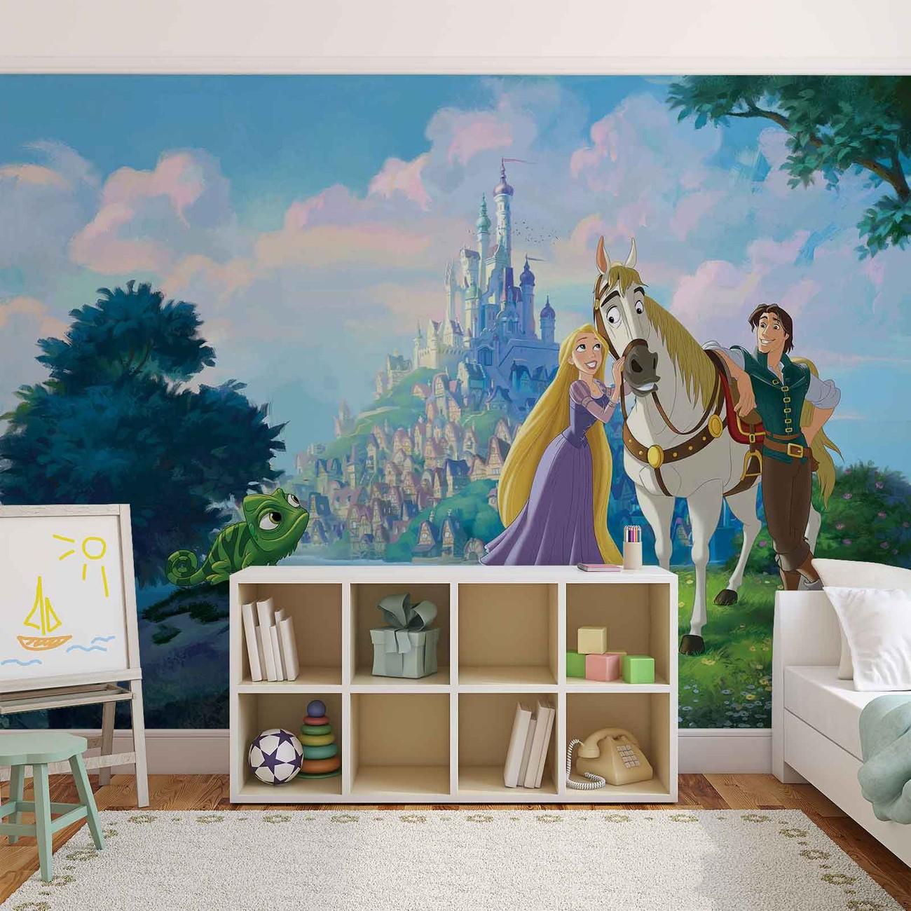 Disney Princesses Rapunzel Wall Paper Mural Buy At Europosters